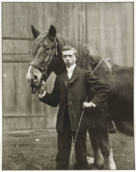 Young Farmer 1912-3 by August Sander 1876-1964