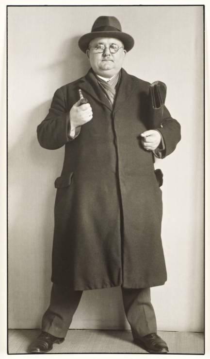 Bailiff c. 1930 by August Sander 1876-1964