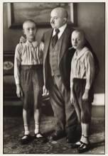 Widower 1914 by August Sander 1876-1964