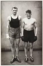 Boxers 1929 by August Sander 1876-1964