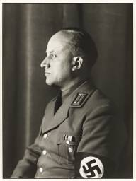National Socialist, Head of Department of Culture 1938, printed 1990 by August Sander 1876-1964