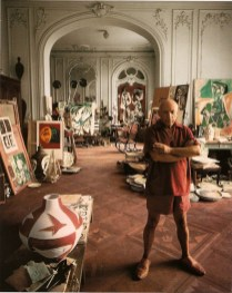 Arnold_Newman_Pablo_Picasso_Cannes_1956