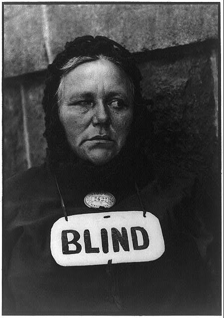 Paul Strand. Mujer ciega