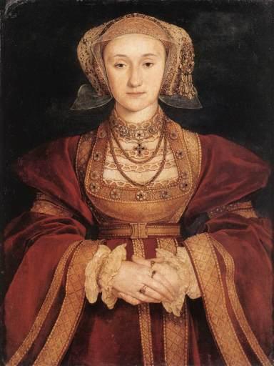 Ana de Cleves por Hans Holbein (el joven), 1539