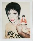 Liza Minelli, Polaroid, Andy Warhol