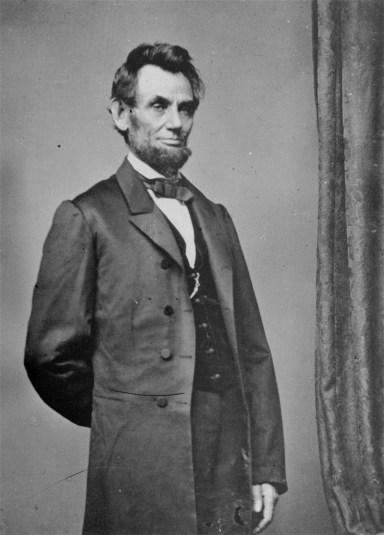 Abraham Lincoln. Mathew B. Brady
