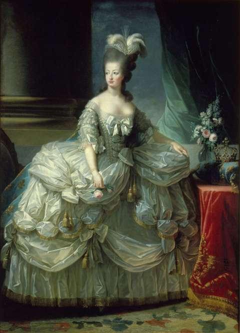 Retrato de María-Antonieta por Elisabeth Vigée-Lebrun Retrato de María-Antonieta 1778-9 Elisabeth Vigée-Lebrun