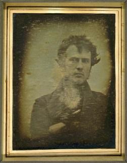 Autorretrato. Robert Cornelius. 1839