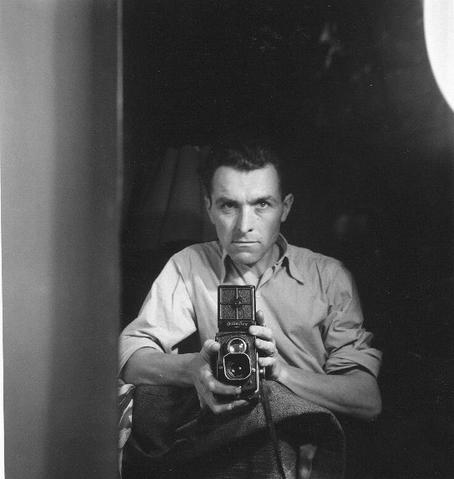 Robert Doisneau, Self Portrait, 1947