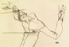 Egon Schiele. 1914