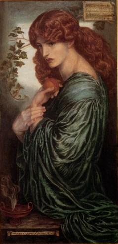 Dante Gabriel Rossetti.