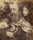 """Julia Margaret Cameron. """"The Whisper of the Muse / Portrait of G. F. Watts"""" (1865)"""