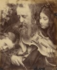 "Julia Margaret Cameron. ""The Whisper of the Muse / Portrait of G. F. Watts"" (1865)"
