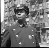 New York, New York. Policeman no. 19687. 1943