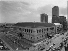 NIcholas Nixon. View of the Boston Public Library (1974)
