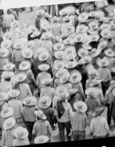 Tina Modotti. Marcha de Campesinos. 1º de Mayo. (1928)
