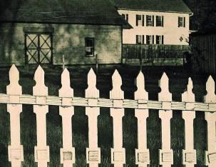 """Paul Strand """"White Fence"""" (1916). En la fotografía directa se buscaba una ausencia de efectismo, tan típico del pictorialismo."""