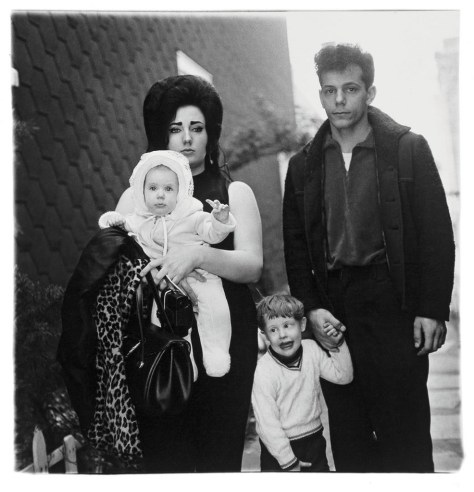 Diane Arbus, A Young Brooklyn Family Going for a Sunday Outing, N.Y.C., 1966