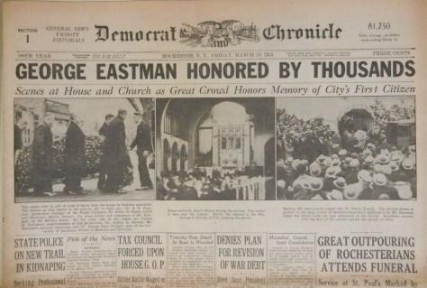 George_Eastman_sepelio_1932