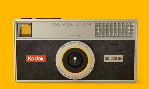 El Smartphone de Kodak ideal que nunca fue. Concepto creado por idididd. ¿Habría salvado algo así a Kodak? Nunca lo sabremos.