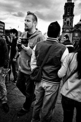 Markus Hartel en la Ciudad de México (2014)