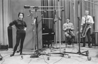 Annie Ross, Chet Baker, Gerry Mulligan, 1957