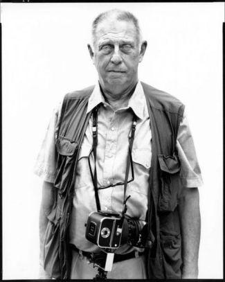 Retrato de Lee Friedlander hecho por Richard Avedon