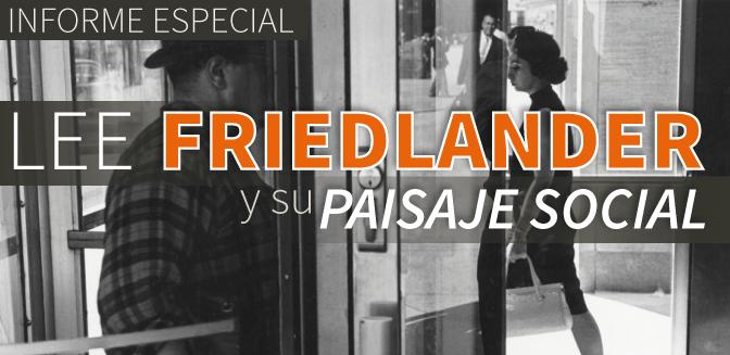 Lee Friedlander y su paisaje social