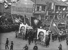 Los chinos resisten la invasión japonesa