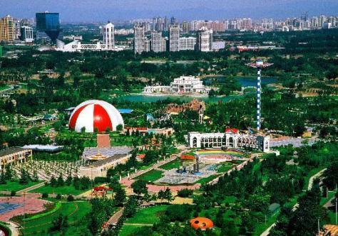 El Parque Chaoynag, el más grande de Beijing