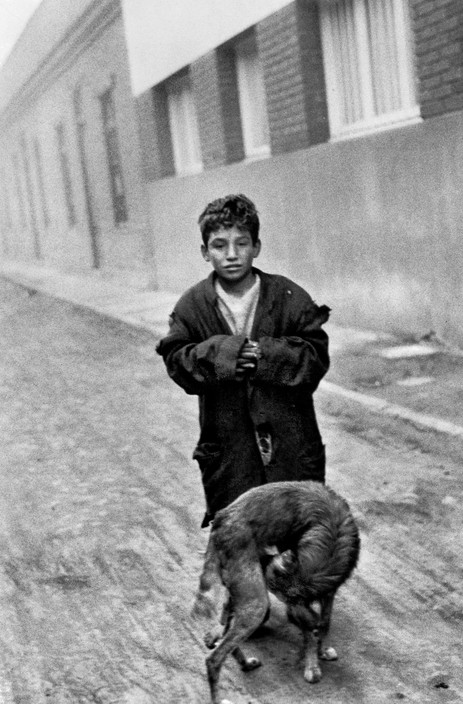 Sergio Larrain, Santiago, 1955