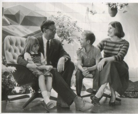 The Woodmans at home in Boulder Colorado ca 1968