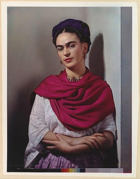 Foto por Nicklolas Muray. Frida Kahlo