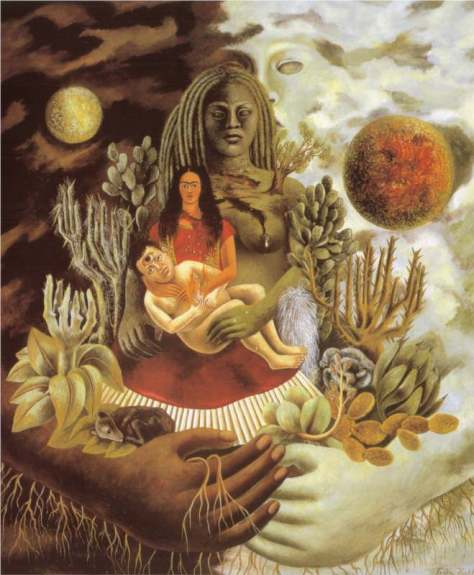 The Love Embrace of the Universe,the Earth,Myself,Diego and Senor Xolotl,1949