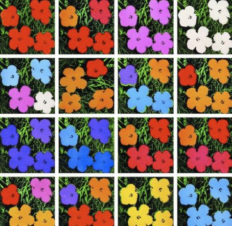 Andy Warhol. Hibiscus