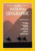 Portada de febrero de 1982. Cortesía de National Geographic