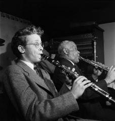 Bob Wilber y Sidney Bechet, Jimmy Ryan's Club, New York City, Junio 1947.