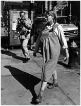 Mia Farro y Ron Galella