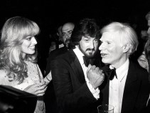 Susan Anton, Sylvestor Stallone, and Andy Warhol
