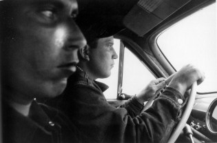 Carretera U.S. 91, a la salida de Blackfoot, Idaho.