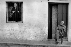 "SPAIN. Campillo de Arenas. 1978. The ""afternoon""."