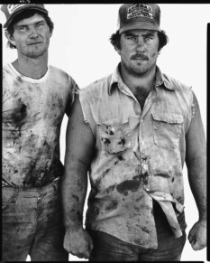 Stan Riley and James Law, Albany, Texas, 1979
