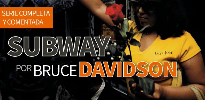 Subway por Bruce Davidson: La serie completa comentada