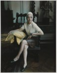 Marie Cosindas (b. 1925); Madame Gres; 1969; Dye diffusion print (Polaroid); Collection of the artist