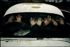 Ingushetia, June 2000. Sleptovsk-Sputnik refugee camp.