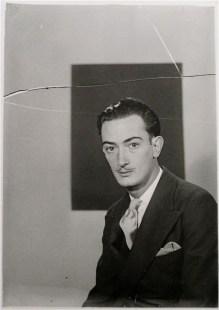 Salvador Dalí por Man Ray
