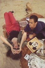C. Z. y Max en la playa, Truro, Massachusetts, 1976