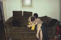Mary y David se manosean. New York City. 1980