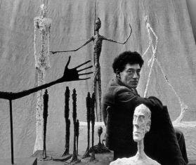 Gordon Parks. Retrato de Alberto Giacometti.