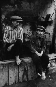 TURKEY. 1954. A blacksmith with his apprentice in the market of Kahramanmaras in Eastern Anatolia.